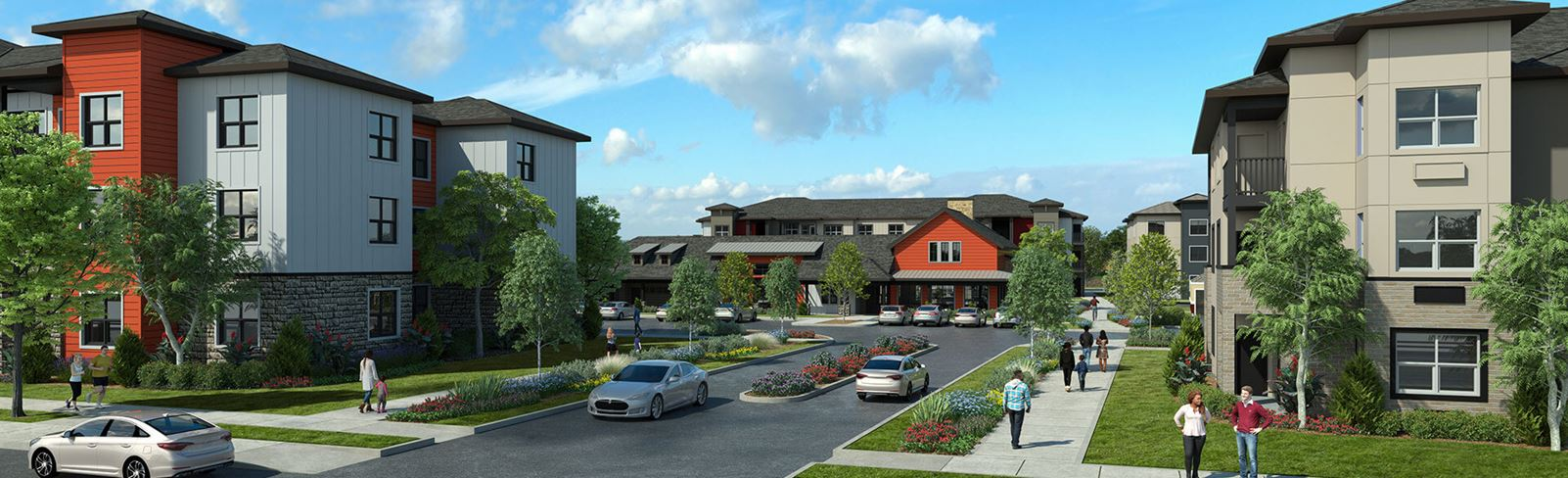 Zera Apartments in Reed's Crossing South Hillsboro Oregon - Apartment Rendering