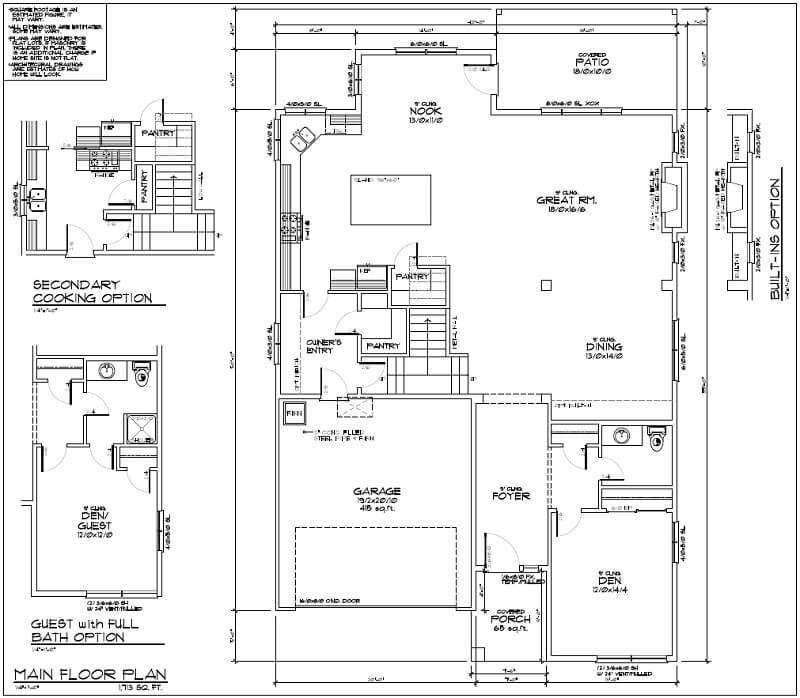 The Hood Floor Plan 1
