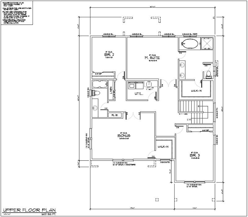 The Tumalo Floor Plan 2