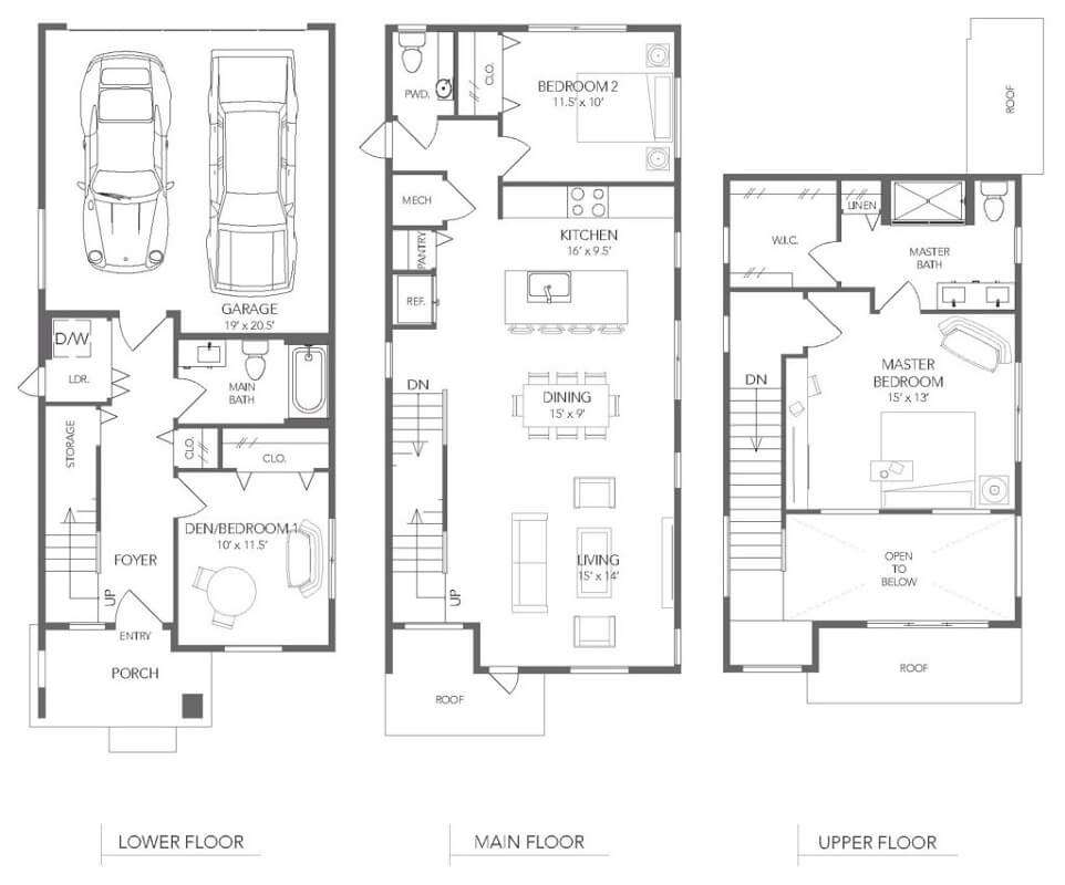 The Bamboo Floor Plan